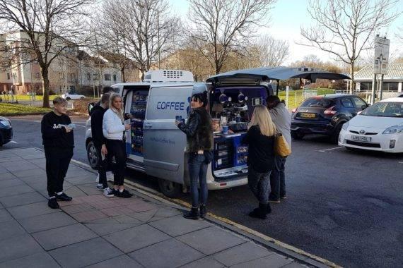 Coffee Blue in Swindon