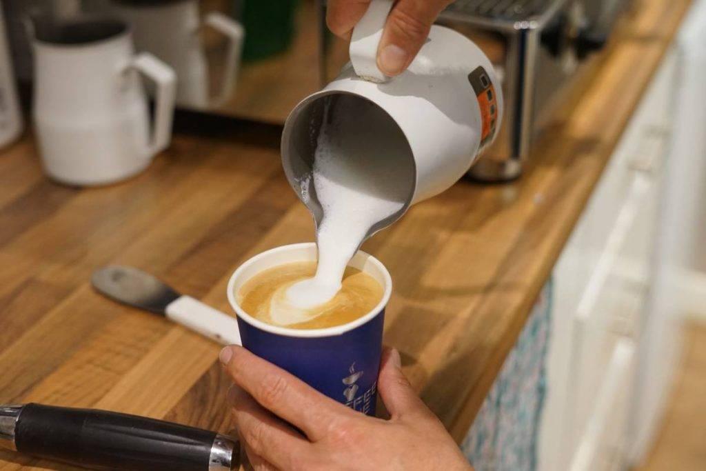 mobile coffee van swansea