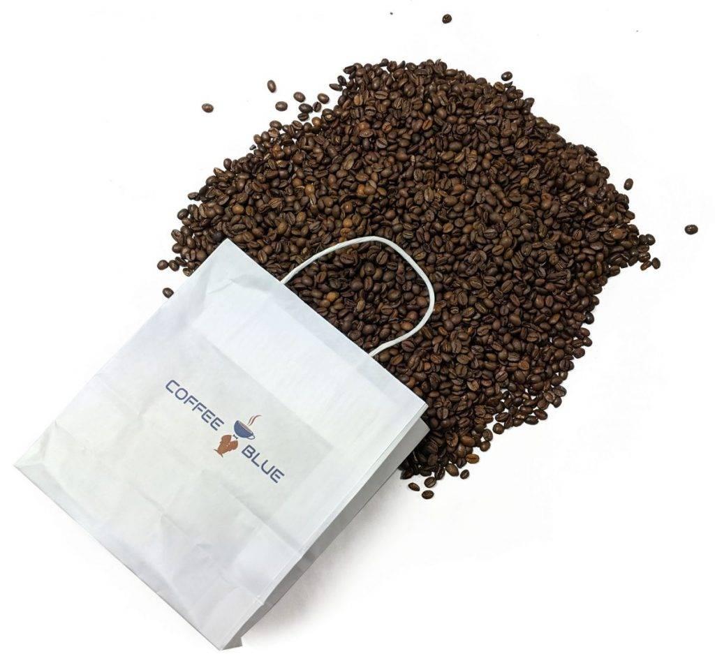 coffee blue beans