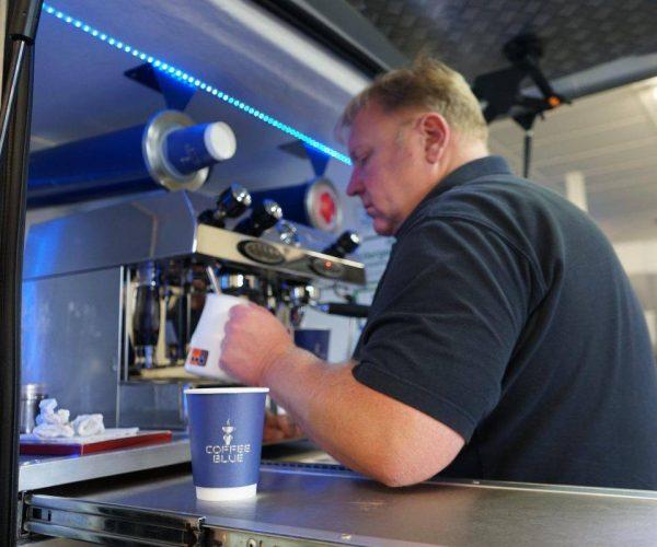 mobile coffee van newport east