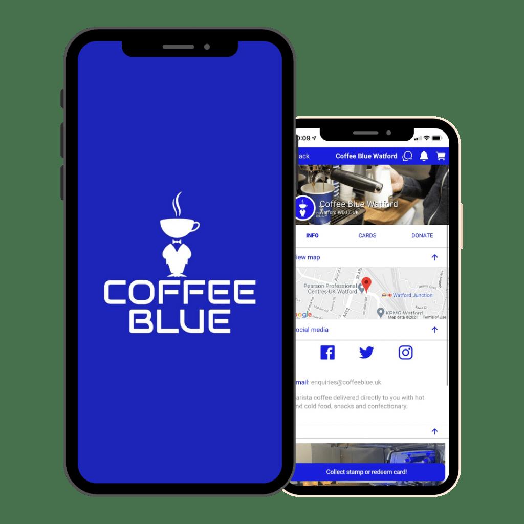 Coffee Blue App Watford