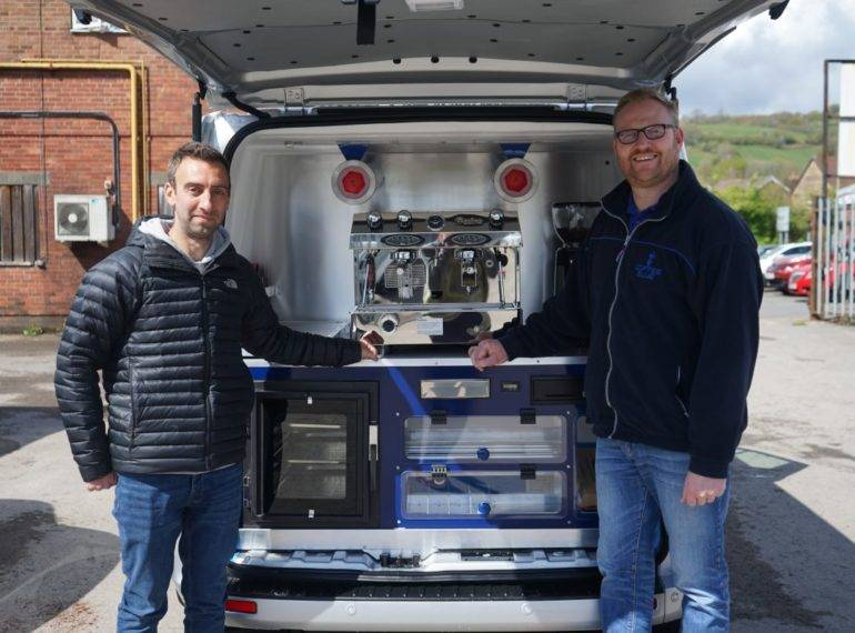 Mobile Coffee Van Taunton and West Somerset